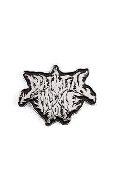 Scapegoat Pin Badge #disturbiaclothing disturbia death metal made me do it silver alien goth occult grunge alternative punk