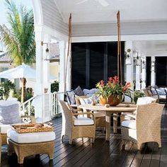 Plantation style meets Cottage style.  Feels like a resort.