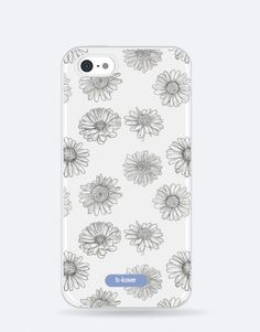 funda-movil-black-daisy Daisy, Phone Cases, Blue, See Through, Mobile Cases, Daisies, Bellis Perennis, Phone Case