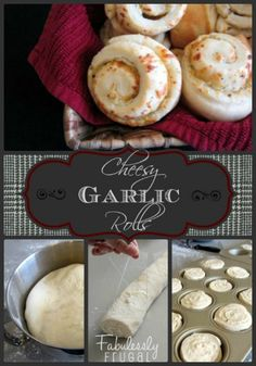These Cheesey garlic rolls are so yummy. #superbowlfood