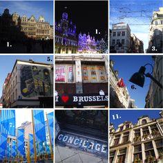 30 choses à faire à Bruxelles City guide / Belgium / Brussels