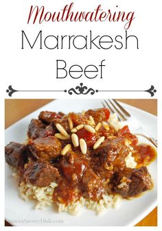 Marrakesh Beef Recipe