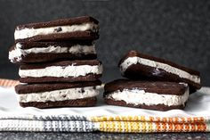 homemade ice cream sandwiches - for summer