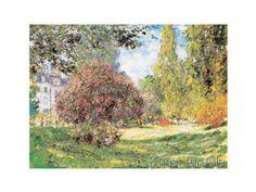 Claude Monet - Il Parco Monceau