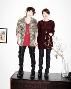 Tegan and Sara LOVE THEIR HAIR