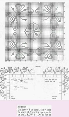 Page 2 of 2 * Butterfly Square Doily (Graph directions only)