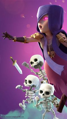 The Witch Clash Royale Wallpaper - Clash Royale Kingdom Android and iOS Clash Royale Hack Ch Wallpaper Coc, Royal Wallpaper, Witch Wallpaper, Cartoon Wallpaper, Coc Clash Of Clans, Clash Of Clans Game, Clash Royale Drawings, Desenhos Clash Royale, Clas Of Clan