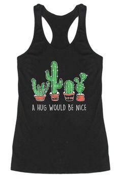 A Hug Would Be Nice Racerback Tank Top