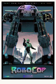 RoboCop Poster by Matt Ferguson