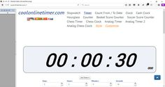 http://coolonlinetimer.com Free #Online #Timer #Stopwatch #Countdown #Clock #Alarm #Hourglass