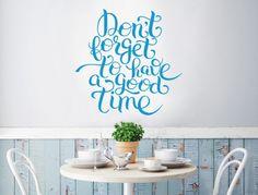 wandtattoo spruch zeit f r kaffee und kippe lustige kaffee spr che und motive f r die k che. Black Bedroom Furniture Sets. Home Design Ideas