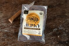 Belcampo Meat Co. Peppered Beef Jerky