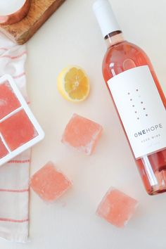 A FROZEN glass of rosé on a hot summer day is cool, refreshing, & lightly sweet. Check out this cocktail recipe today; Rosé lovers – this one is for you!