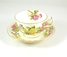 Hommersley tea cup and saucer by UNSC2 on Etsy