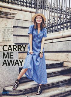 170222 'InStyle' magazine March 2017 Issue - [Carry me away] SNSD Sooyoung