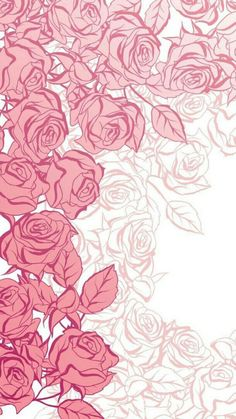 Pretty Phone Wallpaper, Unique Wallpaper, Rose Wallpaper, Kawaii Wallpaper, Pastel Wallpaper, Print Wallpaper, Iphone Wallpaper, Beautiful Flowers Wallpapers, Cute Wallpapers