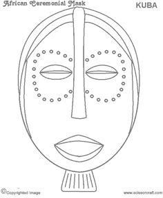African Ceremonial Mask I. African Theme, African Masks, African Art Projects, Mask Drawing, African Sculptures, Kids Art Class, Zentangle, Marker Art, Black History Month