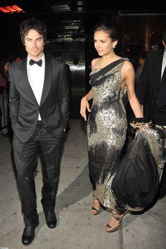 Nina Dobrev and Ian Somerhalder beautiful together!