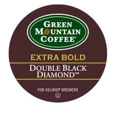 Double Black Diamond Extra Bold Coffee - Doesn't like this one so much anymore after trying others.