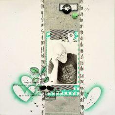 Tampons L'Encre & l'Image, papiers, étiquettes, bulles de tissu et cuir, pastilles argentées Ephéméria by Tribucosta