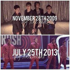 Jak oni szybko dojrzeli i się zmienili. Ale ten czas szybko płynie ! :'(