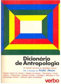 Resultado de imagem para dicionário de antropologia andre pdf