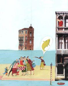 "Albertine illustration for ""La Rumeur de Venise""."