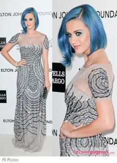 Katy Perry in Blumarine Gown