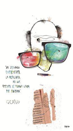 Quino. Retrato del artista Pablo Bernasconi http://www.pbernasconi.com.ar/home.htm