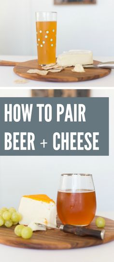 What's better than beer? Beer and CHEESE. Here's everything you need to know about pairing the two together.