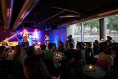 Jazz Dock- With a nice design it is a good place to see live jazz right on the river. A fantastic food menu is also available. #lolagracetour #prague #jazz
