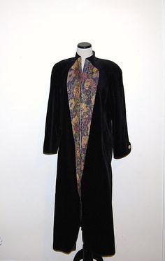 Vintage Coat Opera Velvet and Tapestry by CheekyVintageCloset, $74.00