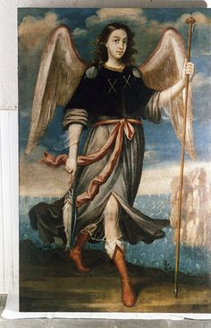 pictures of archangel raphael - Bing images St Raphael, Archangel Raphael, Angels Among Us, Angels And Demons, Angel Guide, San Rafael, Angels In Heaven, Guardian Angels, Angel Art