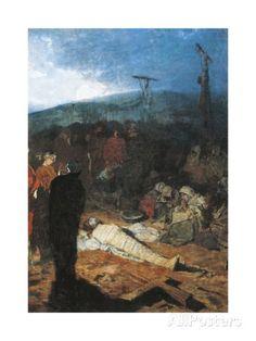 Domenico Morelli The Embalming Of Christ By Domenico Morelli 1871
