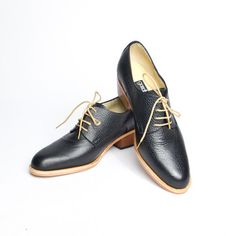 Derby Shoes Women s Black b95068a87