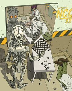 Fuck Yeah Illustrative Art! • theartofanimation: Gael Bertrand