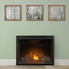 Napoleon Ascent 33-In Built-In Electric Fireplace - BEF33H