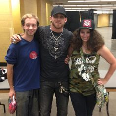 It was an honest dream come true to get to meet Brantley Gilbert. To me this was so much more than a meet and greet, it was a chance to thank the guy whose music got me through my darkest moment in my life. This all happened on 10-16-14 after his show in Madison Wisconsin. I was also lucky to share this amazing moment with my boyfriend!!
