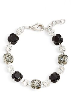 L. Erickson 'Audrey' Multi Stone Bracelet available at #Nordstrom