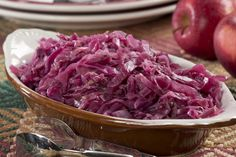 Here's the perfect dish to help celebrate Oktoberfest. Crispy autumn apples and red cabbage blend with a homemade sweet-and-sour sauce to make Oktoberfest Cabbage the perfect go-along for almost any hearty harvest-time main course.