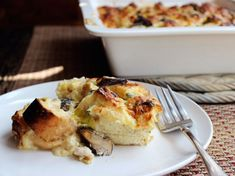 Chicken Dinners: Chicken, Mushroom, and Leek Strata | Serious Eats