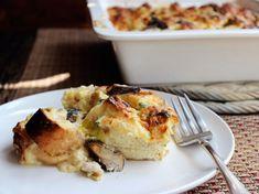 Chicken Dinners: Chicken, Mushroom, and Leek Strata | Serious Eats