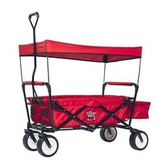 The Wagon Store-Folding Red Sport Wagon The Wagon Store