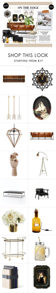 """""""On the edge"""" by gabree on Polyvore featuring interior, interiors, interior design, home, home decor, interior decorating, Asplund, ibride, Stephen Kenn and HAY"""