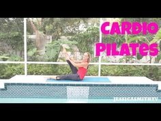 Cardio Pilates with Jessica Smith Pilates Workout Videos, Pilates Training, Youtube Workout Videos, Cardio Pilates, Pilates Video, Pilates Instructor, Yoga Videos, Workouts, Exercises