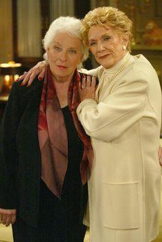 Jeanne Cooper, aka Katherine Chancellor and Juliana McCarthy, aka Liz Foster