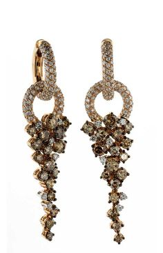 DiGo Fine Italian Jewellery  Valenza- Deco Collection Earrings.