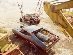 Mad max cars viaAdam Yes. Have one.    More about Mad Max here.