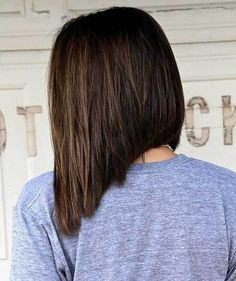 The short haircut is always correlated with rebellion and change but the one that is considered a bit sexy and cheeky is the inverted bob haircuts