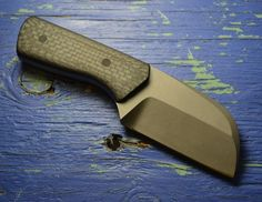 S7 Pocket Cleaver - Wharncliffe via Daniel Fairly Knives. Click on the image to see more!